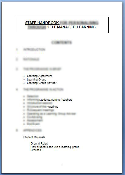 self managed learning in the context of The self-managed learning context many researches over the years have been showing the self- managed learning is getting very popular inside organization, based on the benefits that an individual acquires at the end of each achievement.
